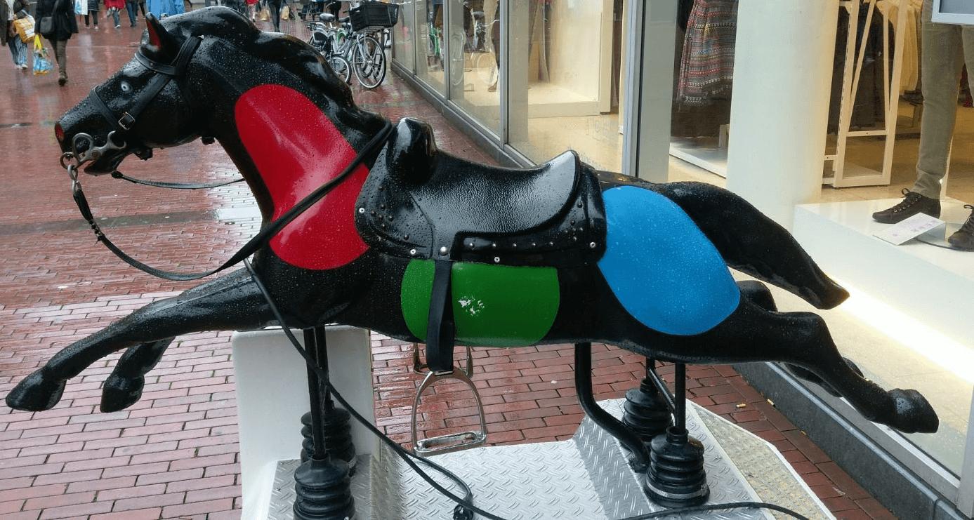 Het paard 'Palomino' van de C&A